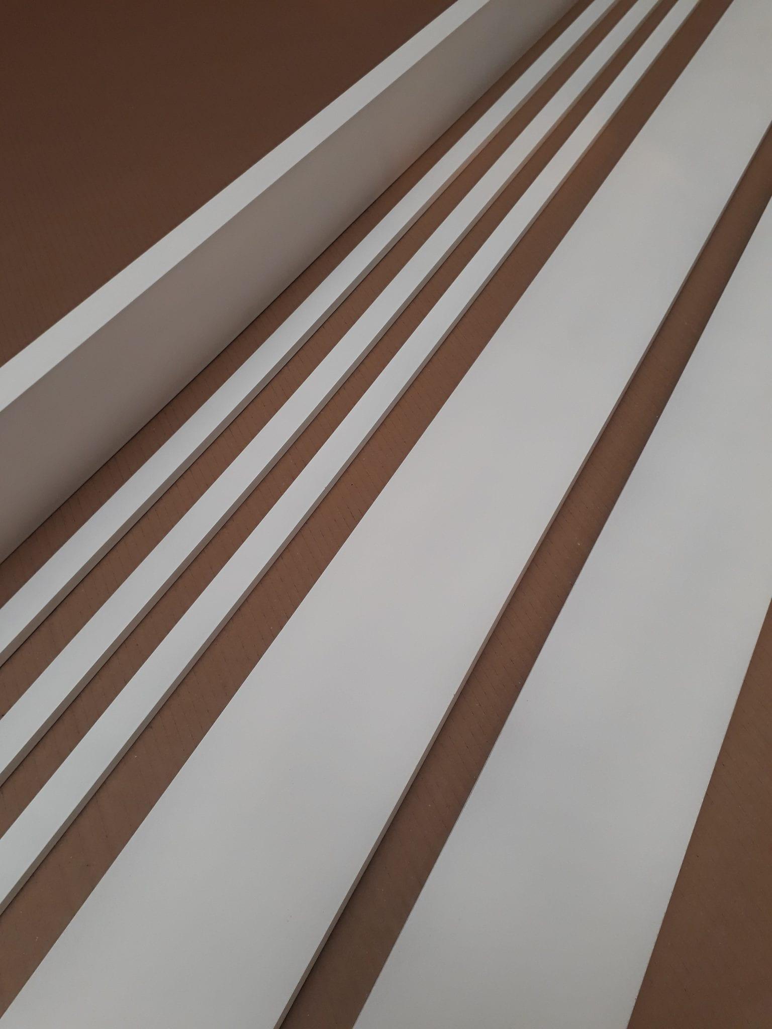 White Primed Double Door Lining Internal Door Frame